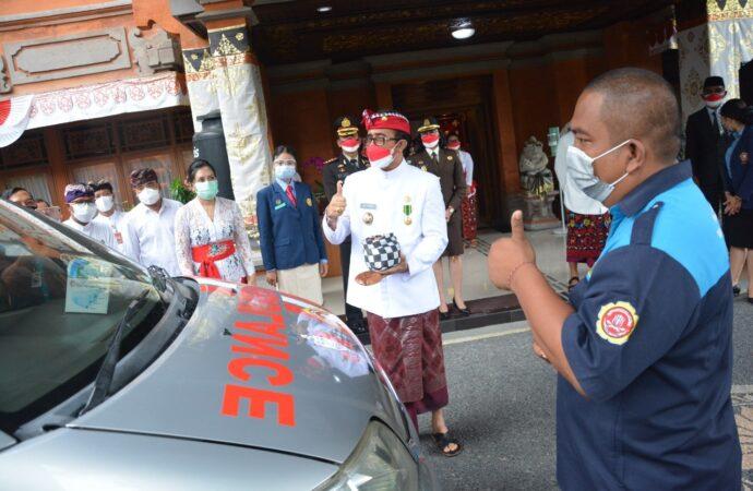 Ambulan Karang Taruna Denpasar Diresmikan