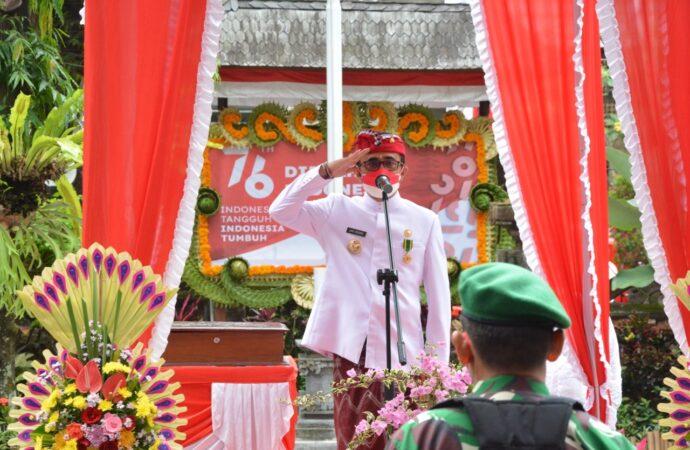 Jaya Negara Pimpin Upacara Bendera Hut RI Ke-76