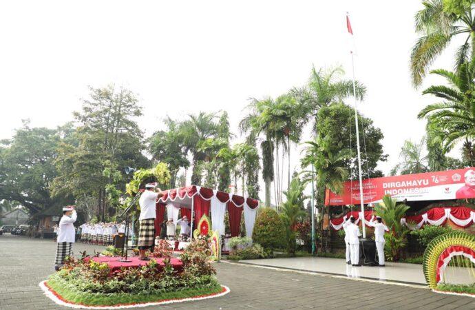 Gianyar Memperingati 76 Tahun Indonesia Merdeka