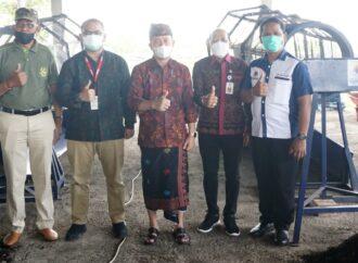 TOSS Center Dibantu Dua Mesin Pengayak Kompos