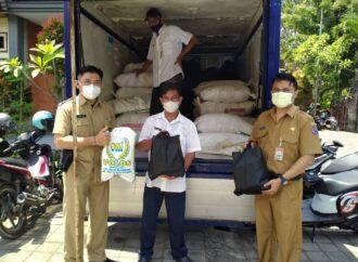 Sembako untuk Isoman di Denpasar