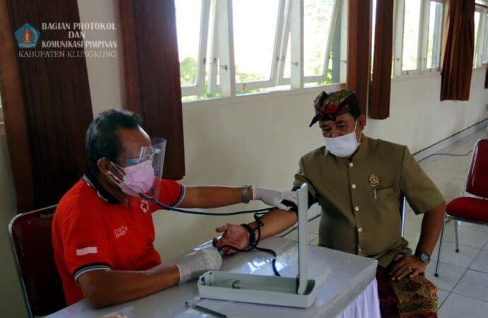 Disdukcapil Klungkung Gelar Aksi Donor Darah