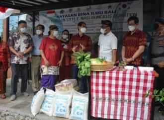 Bantuan untuk Dapur Umum Gotong Royong
