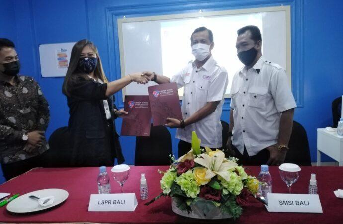 SMSI Bali Gandeng IKB LSPR Bali untuk Kerjasama di Bidang Jurnalistik