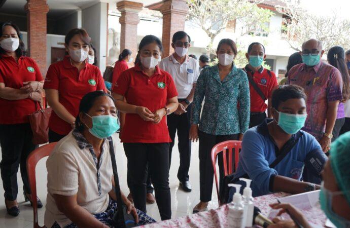 Vaksinasi Bagi Penyandang Disabilitas di Denpasar