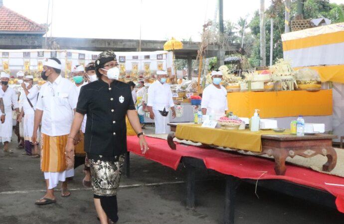 Nyekah Massal di Banjar Keraman,  Desa Abiansemal