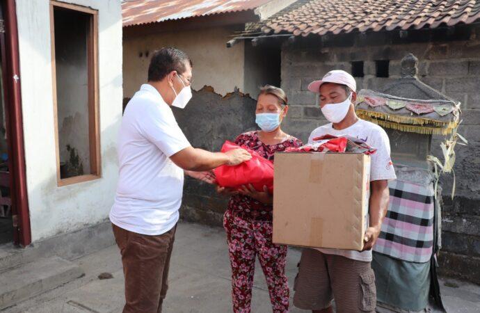 Pemkab Bantu Korban Kebakaran di Dusun Menesa