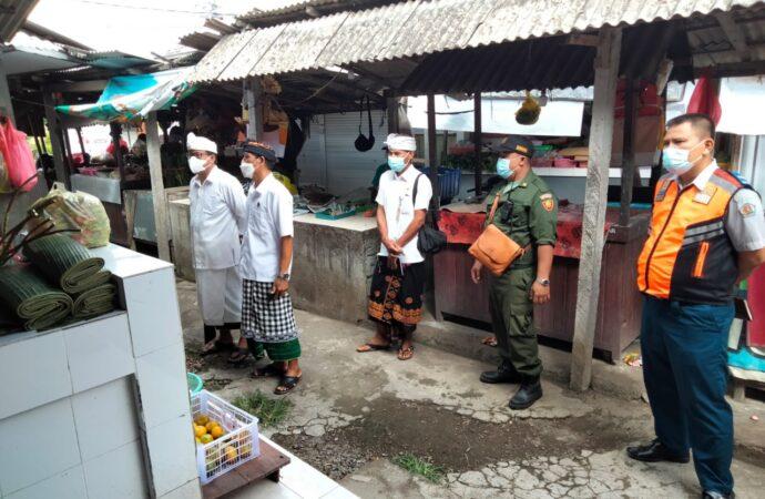 Monev Penanganan Covid-19 di Desa Penatih Dangin Puri dan Kesiman Kertalangu
