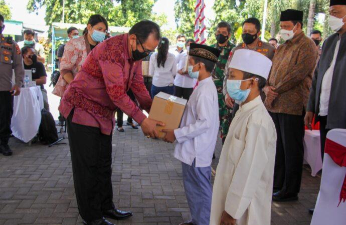 Vaksin Pertama Sudah Capai 107%, Pemprov Bali Tetap Kebut Program Vaksinasi