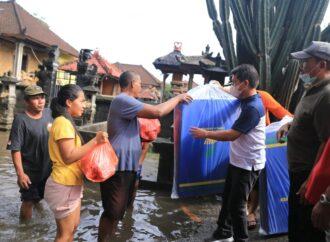 Puluhan Rumah Warga di Kusamba Kembali Terendam Banjir