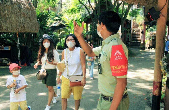 Bali Safari Park Dibuka, Pengunjung Wajib Miliki Aplikas PeduliLindungi
