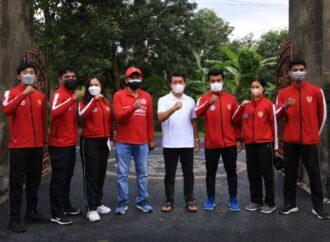 Atlet PON Klungkung Menuju Papua