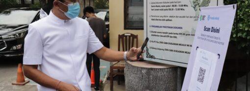 Sektor Pelayanan Publik di Buleleng Dilengkapi Barcode PeduliLindungi