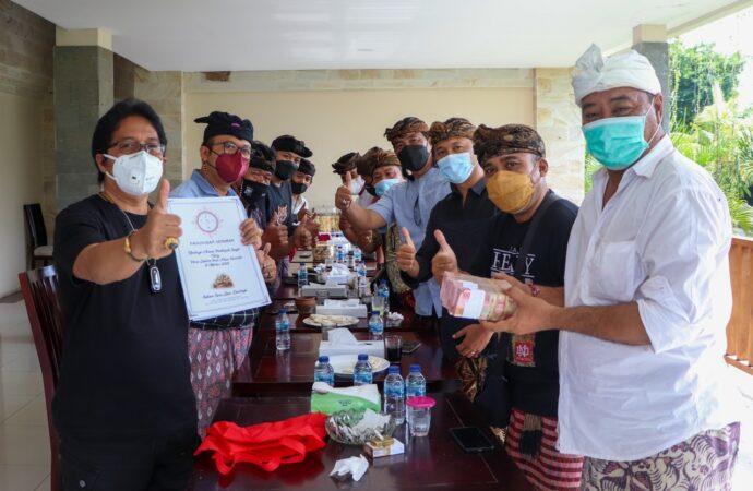 Paguyuban Seniman Bali Bertemui Bupati Giri Prasta