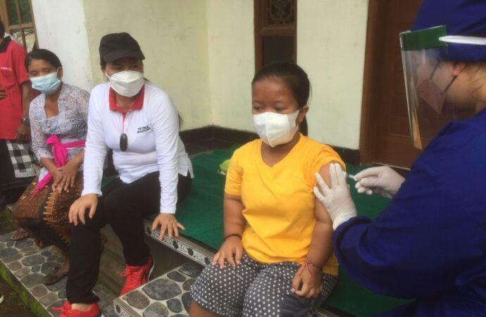 TP PKK Badung Gencar Vaksinasi Covid-19 bagi Penyandang Disabilitas