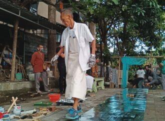 """Spirit Artepak Nusantara"",  Aksi Perupa di Batubelah Art Space"