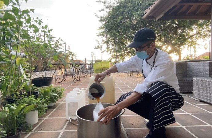 Hotel Nikko Bali Terapkan Green Practice dengan Eco-Enzyme dan  Pupuk Organik Cair