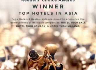 Tugu Hotel & Restaurants Raih Reader's Choice Awards Best Hotels In Asia