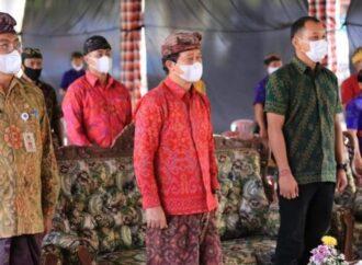 Bupati Suwirta Hadiri Pencanangan Program Desa Kerthi Bali Sejahtera