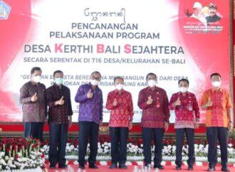 Bupati Tabanan Dukung Program Desa Kerthi Bali Sejahtera Pemprov Bali