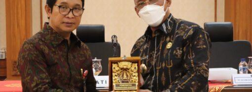 Pemkot Cilegon Belajar MPP di Badung